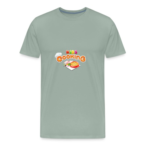 Kids Cooking - Men's Premium T-Shirt