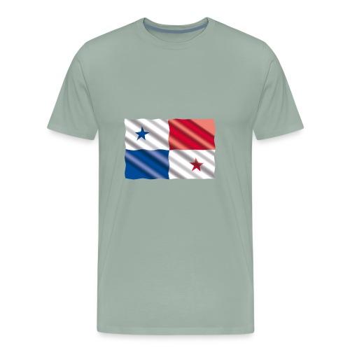 Bandera de Panamá - Men's Premium T-Shirt