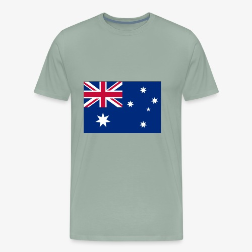 Bradys Auzzie prints - Men's Premium T-Shirt
