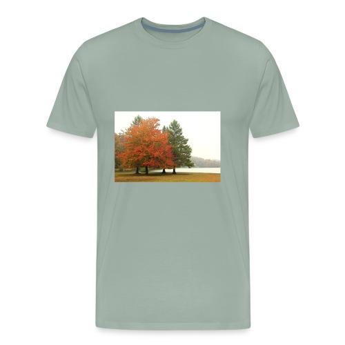 Autumn Fog - Men's Premium T-Shirt