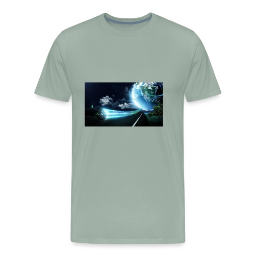 Earth Space Shirt - Men's Premium T-Shirt