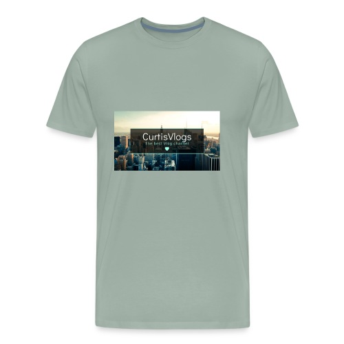 CurtisVlogs - Men's Premium T-Shirt