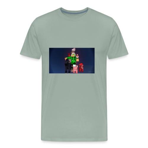 this is my youtube logo - Men's Premium T-Shirt