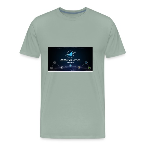 Cryptocurrency - Men's Premium T-Shirt