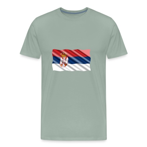 Serbia - Men's Premium T-Shirt