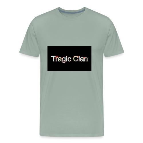 tragiic second logo - Men's Premium T-Shirt