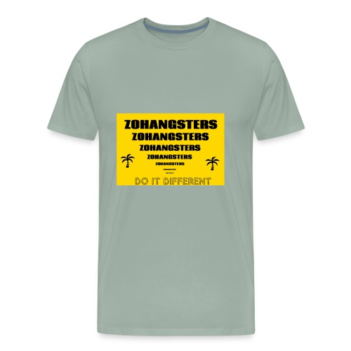 Big To Small ZOHANGSTERS TEE - Men's Premium T-Shirt