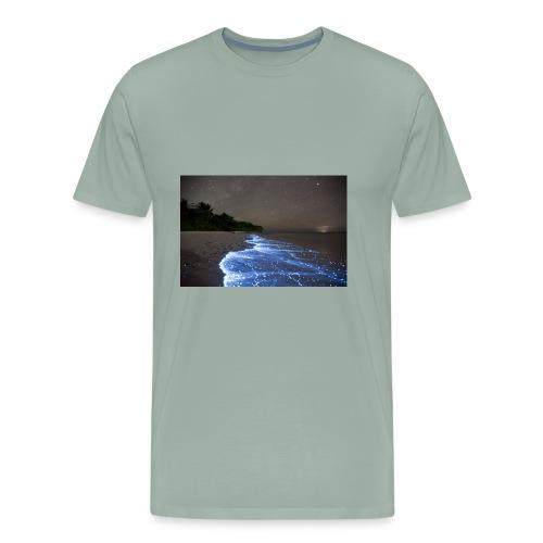 Walk with stunning nature - Men's Premium T-Shirt