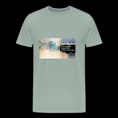 3rd eye quotes - Men's Premium T-Shirt