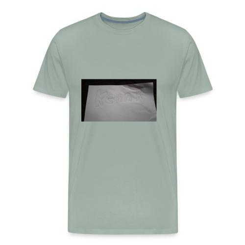 Kennedy k - Men's Premium T-Shirt