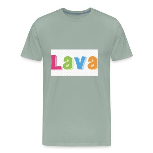 The lava - Men's Premium T-Shirt