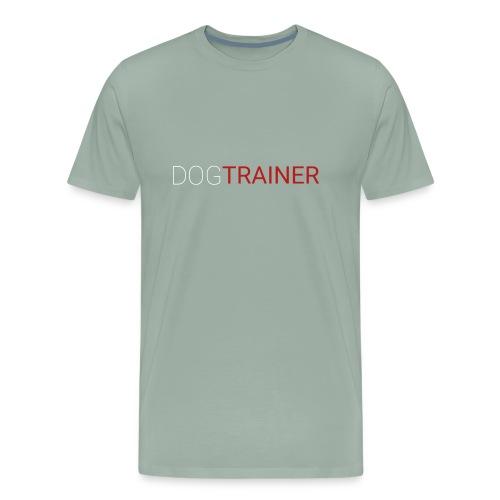 Funny Dog Trainer - Men's Premium T-Shirt