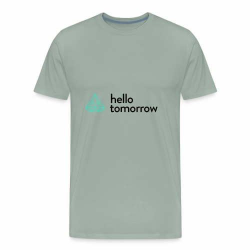 Hello Tomorrow - Men's Premium T-Shirt
