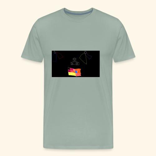 dj tiny face - Men's Premium T-Shirt