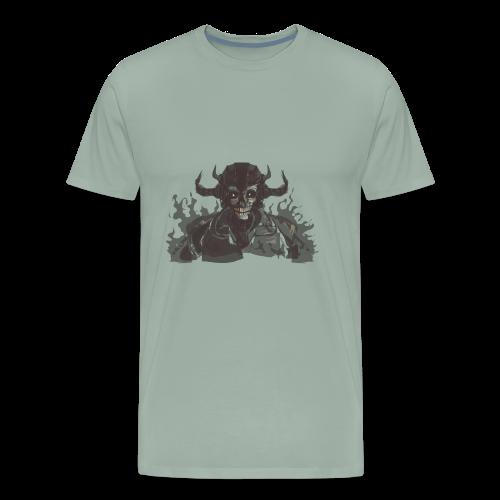 armored skeleton - Men's Premium T-Shirt