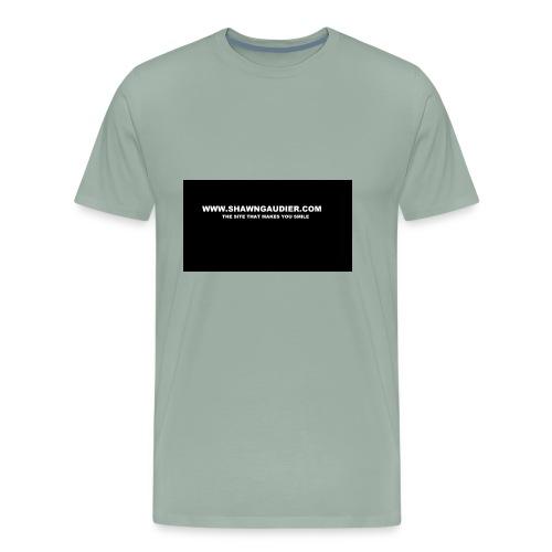 Shawn Gaudier T Shirt Logo - Men's Premium T-Shirt