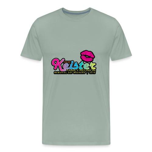KISS MY KEISTER! - Men's Premium T-Shirt