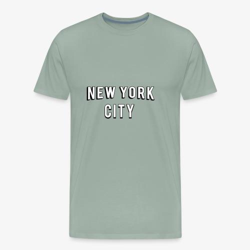 NEW YORK CITY Ross Geller T-shirt - Men's Premium T-Shirt