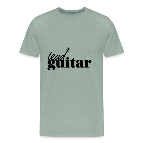 lead guitar - Men's Premium T-Shirt
