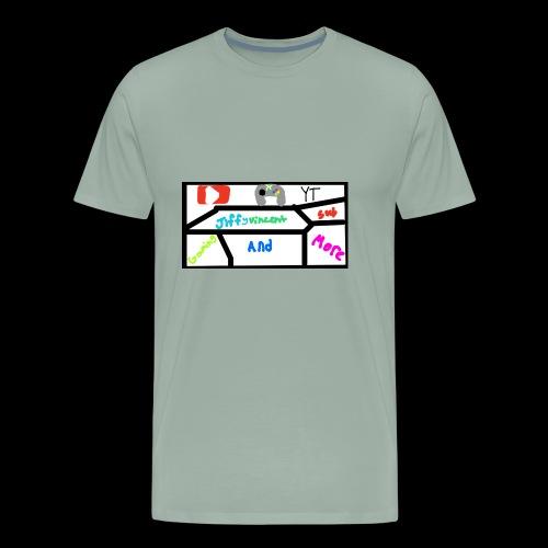 Jiffyvincent Gaming And More - Men's Premium T-Shirt