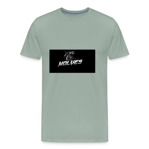 WOLVES - Men's Premium T-Shirt