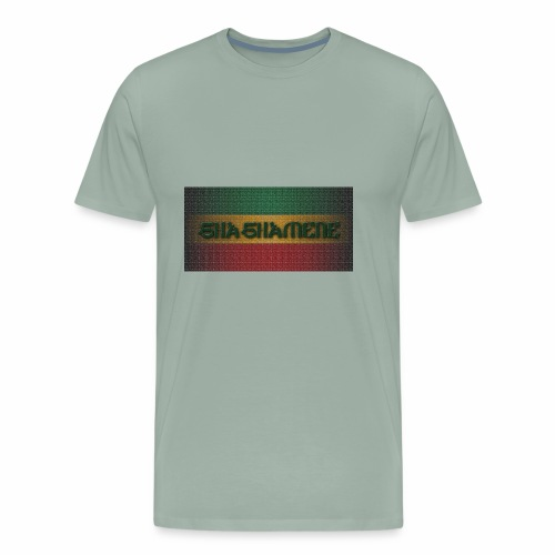 SHASHAMENE RECT10MB - Men's Premium T-Shirt