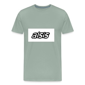 Alsis cool white - Men's Premium T-Shirt