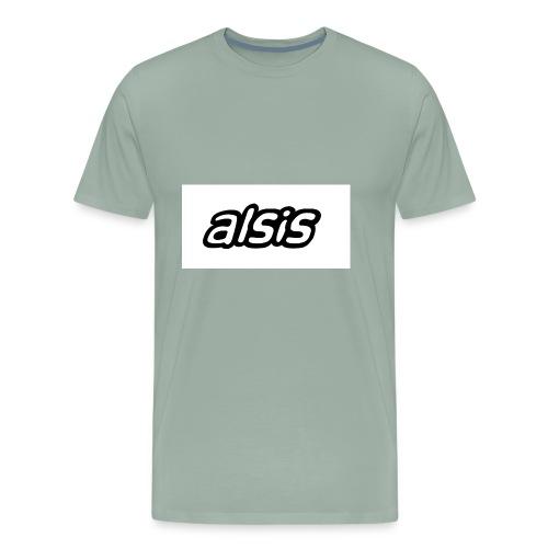 Alsis cool white - Men's Premium T-Shirt