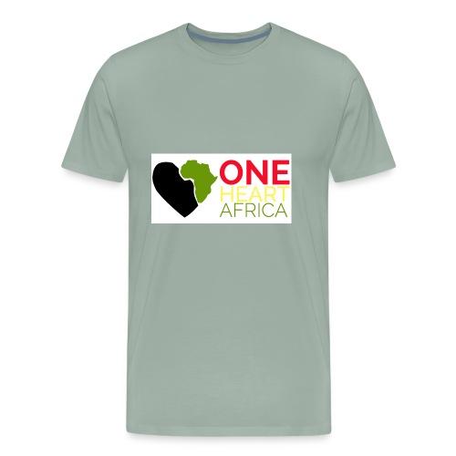ONE HEART AFRICA - Men's Premium T-Shirt