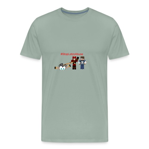StopLetzoAbuse - Men's Premium T-Shirt