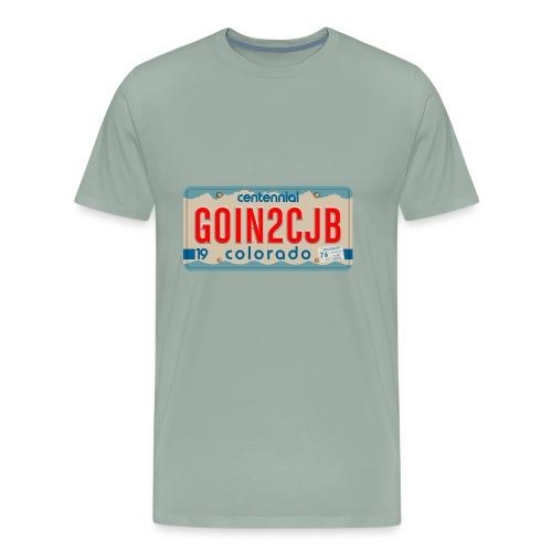 GOIN2CJB Colorado Plate - Men's Premium T-Shirt