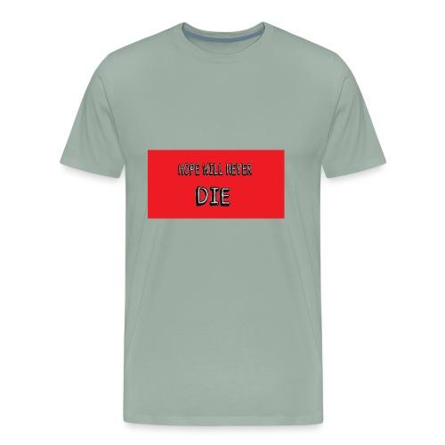 hope will never die - Men's Premium T-Shirt