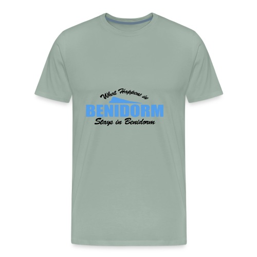 What happens in Benidorm - Men's Premium T-Shirt