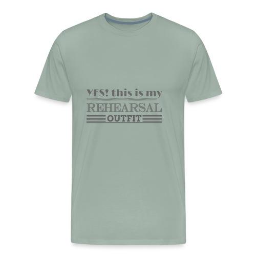 Let's go Rehearsal - Men's Premium T-Shirt