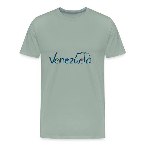 logo VZLA - Men's Premium T-Shirt