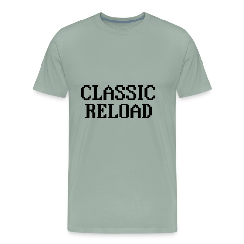 ClassicReload Classic Black - Men's Premium T-Shirt