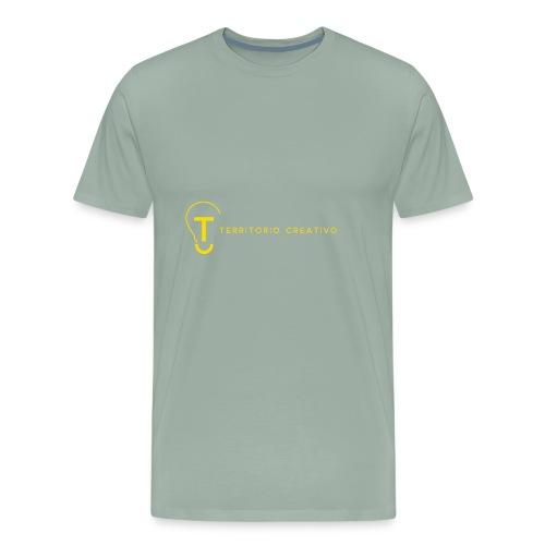 TC logo Yellow - Men's Premium T-Shirt