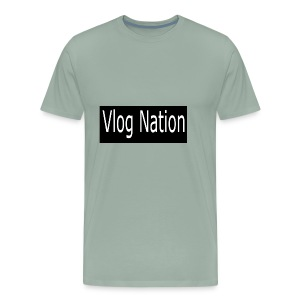 Vlog Nation - Men's Premium T-Shirt