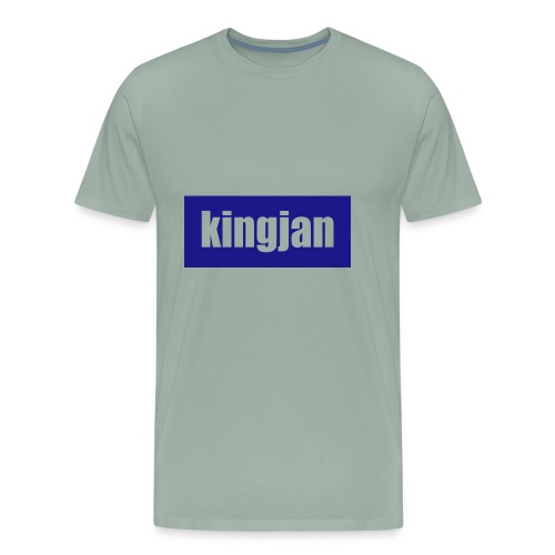 kingjan merch logo - Men's Premium T-Shirt