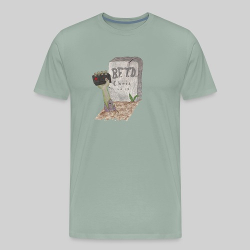 Back From The Dead Gamer Original Logo - Men's Premium T-Shirt