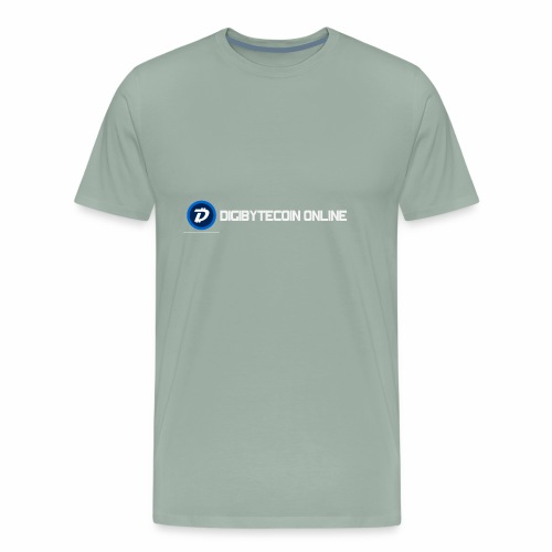 Digibyte online light - Men's Premium T-Shirt