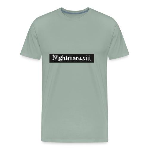 Nightmara logo written - Men's Premium T-Shirt