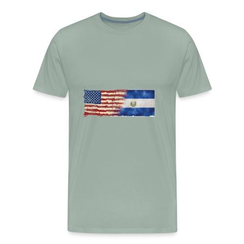 soy un americano salvadoreno - Men's Premium T-Shirt
