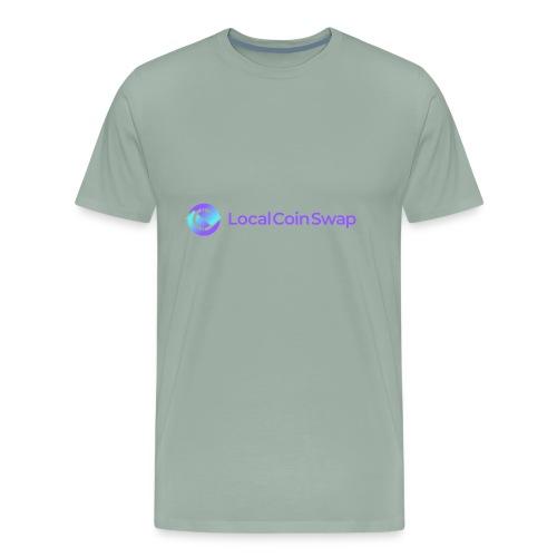 Logo white bg - Men's Premium T-Shirt