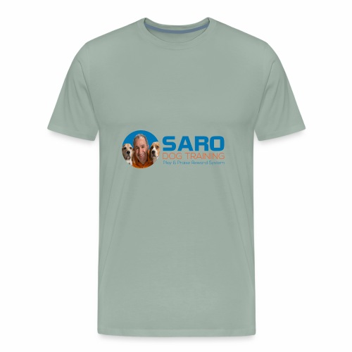Saro Dog TrainingLogo - Men's Premium T-Shirt