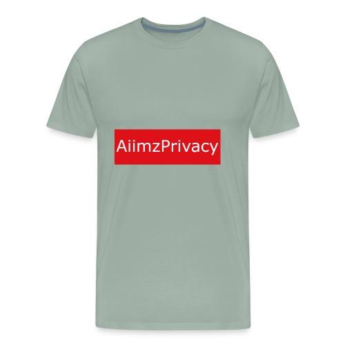 AiimzPrivacy's mouse pad - Men's Premium T-Shirt