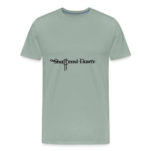 Shattered Dawn Black Logo - Men's Premium T-Shirt