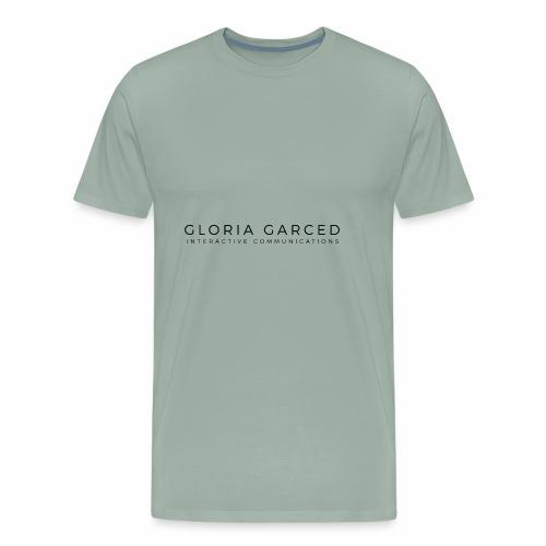 Gloriagarced logo final interactive copia - Men's Premium T-Shirt
