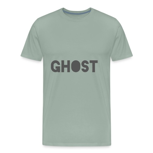 Ghost Clothing - Ghost Text Logo Merch - Men's Premium T-Shirt