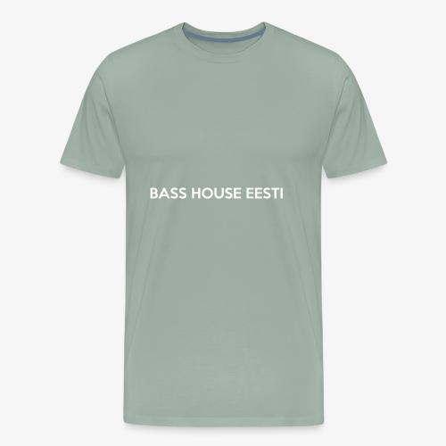 Bass House Eesti Logo White - Men's Premium T-Shirt